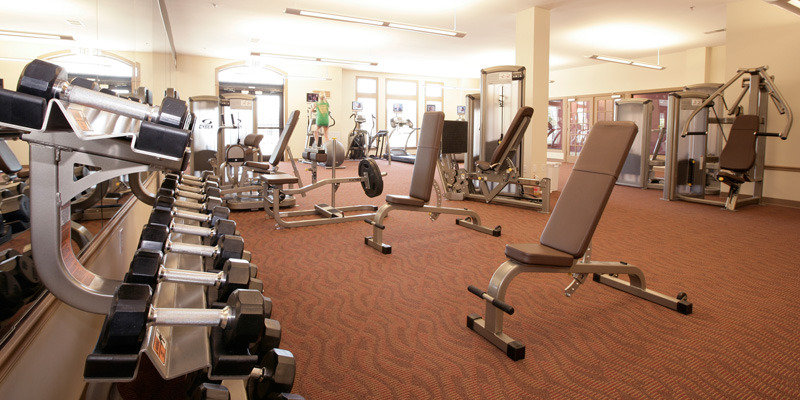 Fitness Center | Hamburg Farms Condos