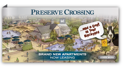 Now Leasing - Brand new apartments at Preserve Crossing